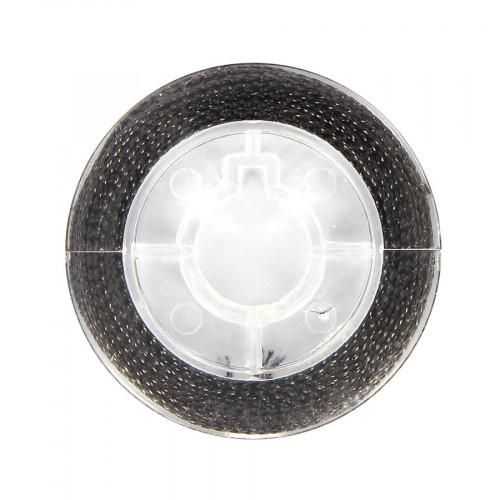 Cordonnet métallisé - Noir - 0,8 mm par 10 m