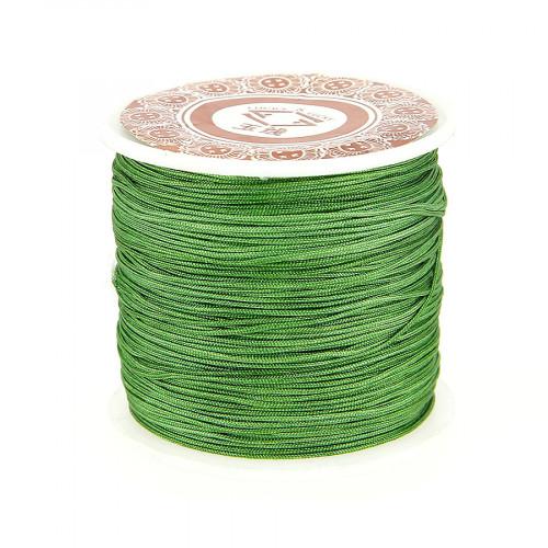 Fil de jade - Vert tilleul - 0,80 mm par 40 m