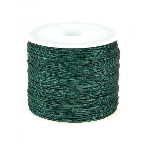Fil de jade - Vert sapin - 0,80 mm par 40 m