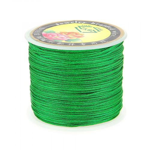 Fil de jade - Vert - 0,80 mm par 40 m