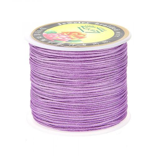 Fil de jade - Violet - 0,80 mm par 40 m