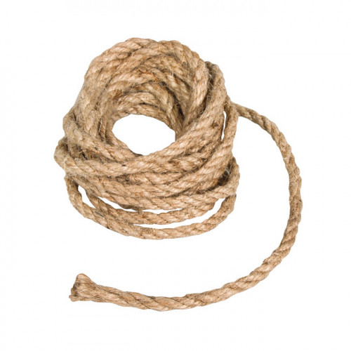 Cordon de jute 6 mm - 3 m