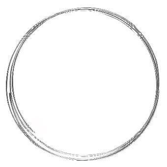 Fil cable - Ø 0,5 mm - Argenté x 2 m