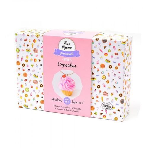 Kit Bijoux Gourmands - Cupcakes