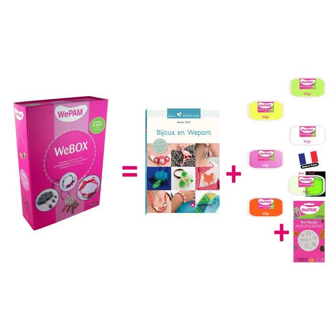WePam Box 1 - 20 bijoux à créer