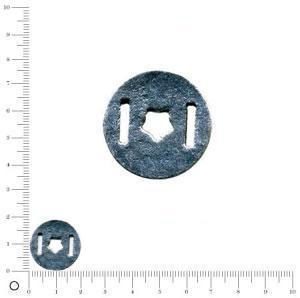 Charms étoile Ø 17 mm - Argenté