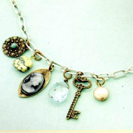 Vintage groove - Kit Cameo et Glass Charms