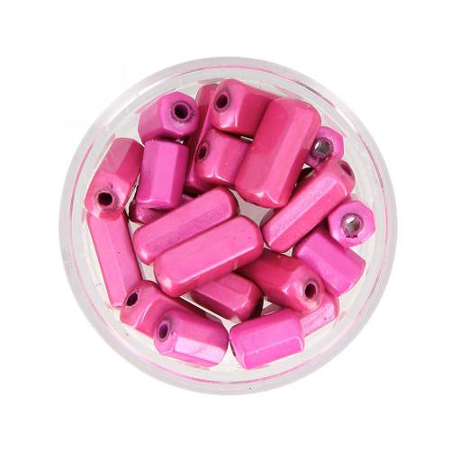 Mélange de perles Magic - Rose  - Taille aléatoire de 9 à 17 mm