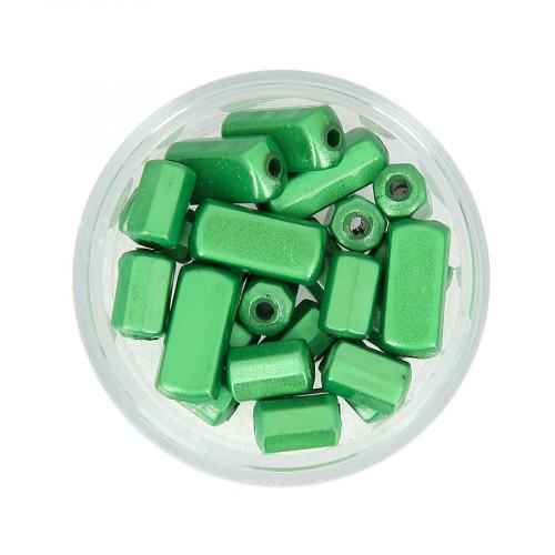 Mélange de perles Magic - Vert - Taille aléatoire de 8 à 14 mm