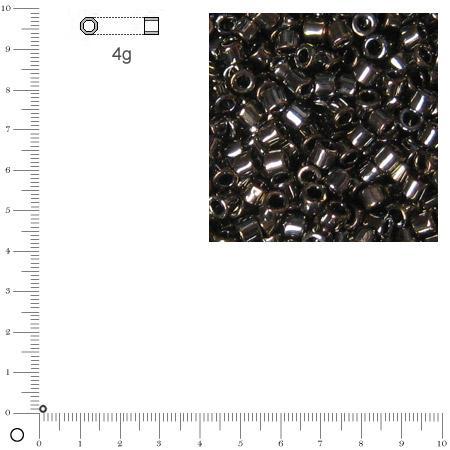 Miyuki Delicas 11/0 métallique - Bronze brillant DB0254 - 4 g