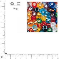 Rocailles intérieur argenté - 2,6 mm