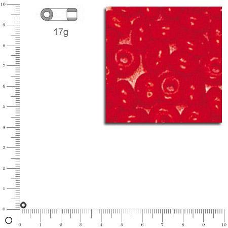 'Rocailles opaques - Orange - Ø 2,6 mm x 17 g