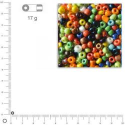 Rocailles opaques lustrées - 2,6 mm