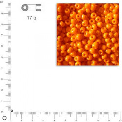 Mini-rocailles opaques - 2 mm