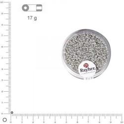 Mini-rocailles nacrées - 2 mm