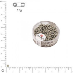 Grosses rocailles metallics - 4 mm