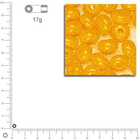 'Rocailles opaques - Jaune - Ø 2,6 mm x 17 g