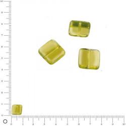 Perles carrées plates