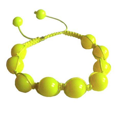 Perle Shamballa - Ø 12 mm - Vert Olive
