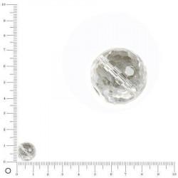 Perles en cristal à facettes