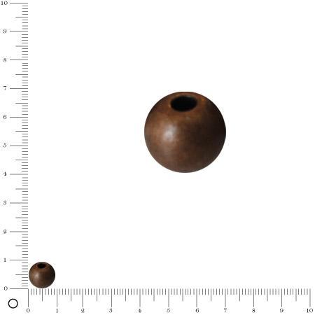 Boule Ø 8 mm - Cuivré vieilli