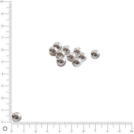 Boule Ø 8 mm - Argenté vieilli