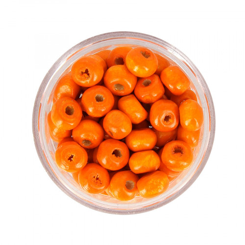 Boîte de perles - Orange - Ø 6 mm