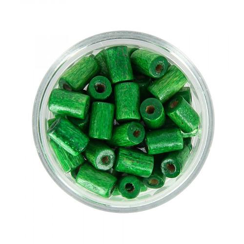 Boîte de perles - Vert - 8 x 5 mm