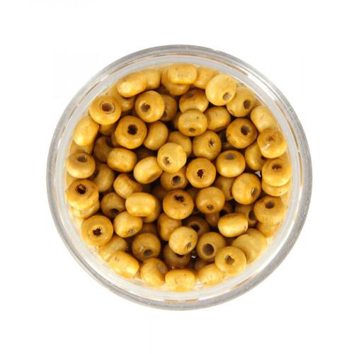 Boîte de perles - Marron beige - Ø 4 mm