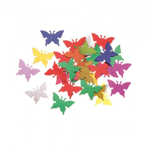 Sequins - Papillons multicolores - 20 g