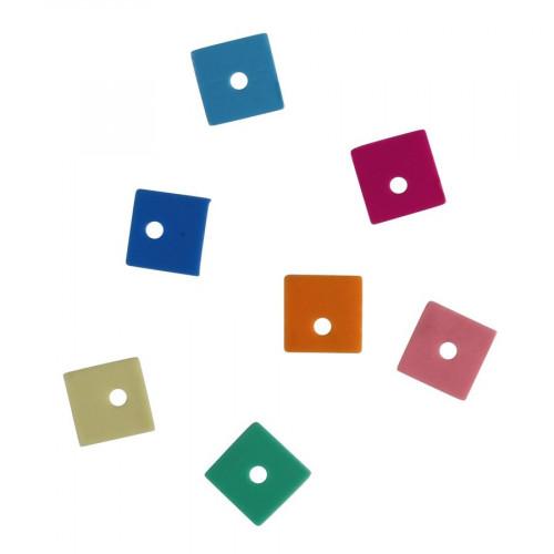 Sequins - carré - 6 mm