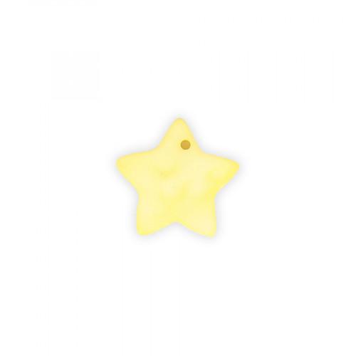 Sequin étoile nacre - 17 x 17 mm