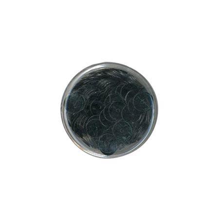 Disque sequins - Vert foncé - 7 mm