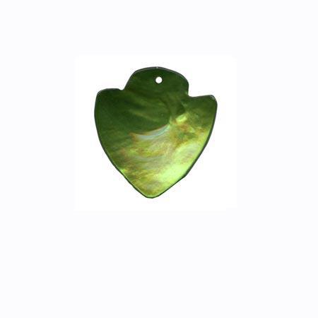Sequin 1 trou «géométrique» - Vert