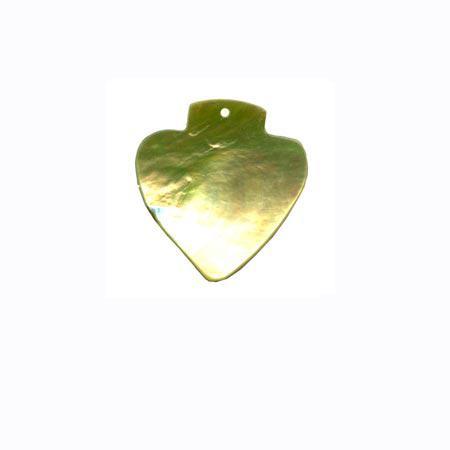 Sequin 1 trou «géométrique» - Vert anis