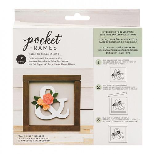 Kit & pour cadre Pocket Frame 15,2 x 14 cm