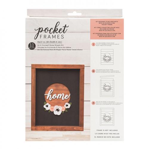 Kit Couronne HOME pour cadre Pocket Frame 20,3 x 25,4 cm