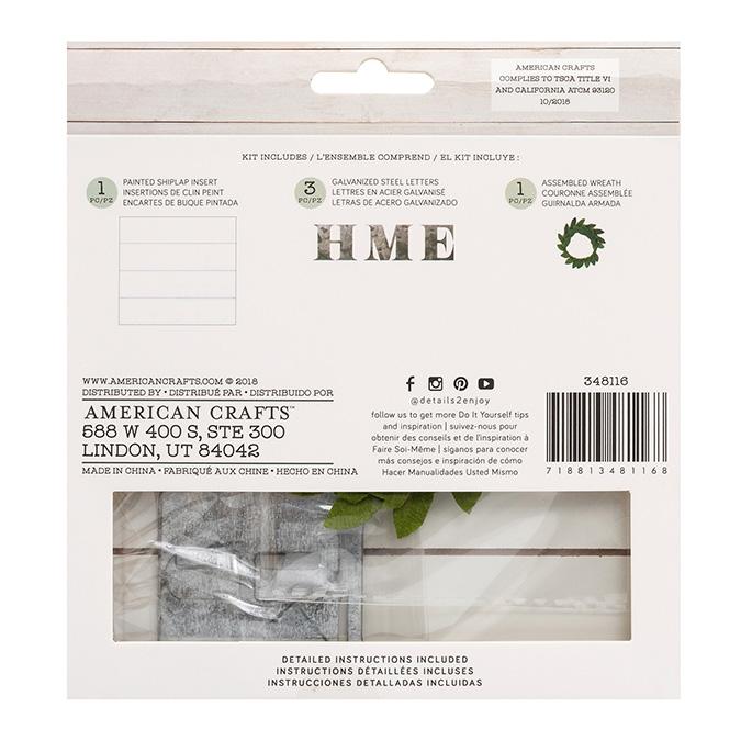 Kit Home pour cadre Pocket Frame 15,2 x 14 cm