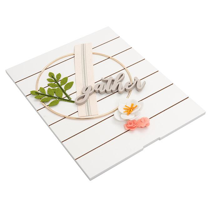 Kit Couronne Gather pour cadre Pocket Frame 20,3 x 25,4 cm