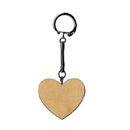 Porte-clefs - Cœur - 6 x 4.5 cm