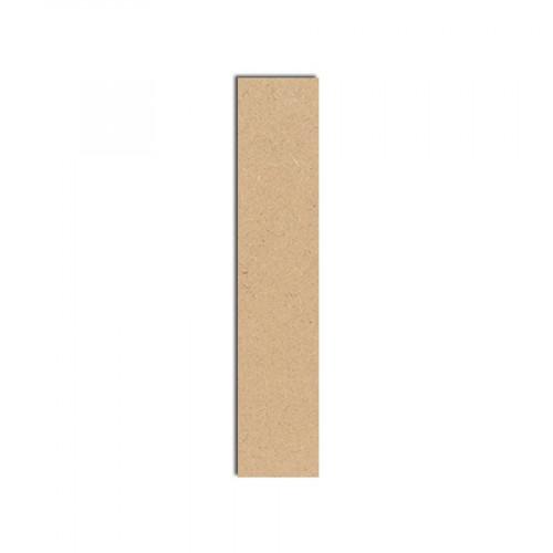 Lettre en bois médium - I majuscule - 10 cm