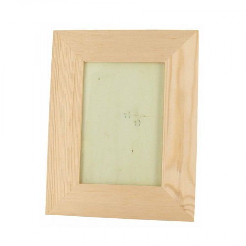 Cadre photo vitré en bois - 18 x 23 x 1,2 cm