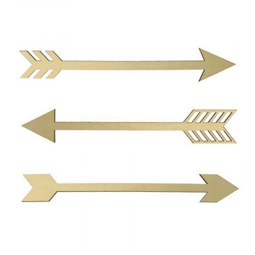 Totem - Flèches en bois - 3 pcs
