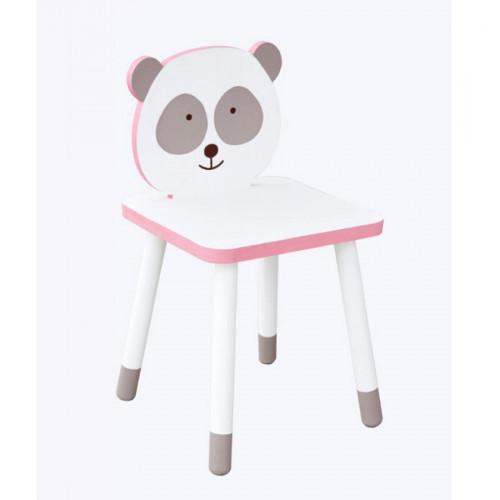 Chaise à monter en bois - Adorable - Panda - 29 x 29 x 53 cm