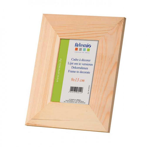 Cadre plat en bois - 9 x 13 cm