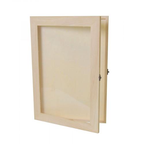 Cadre avec vitre - 42 x 29 x 2,3 cm