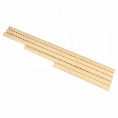 Lot de 5 bâtons en bois