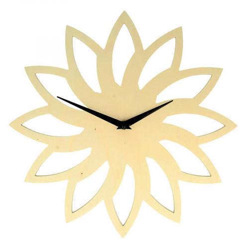Horloge Soleil en bois - 30 cm