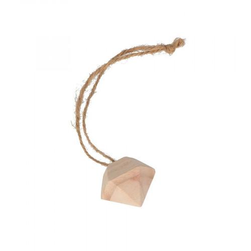 Diamants en bois à suspendre - 5,5 x 5 cm - 2 pcs