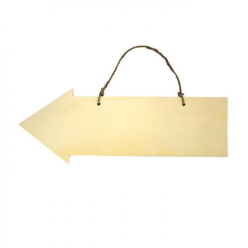 Flèche en bois 40 cm